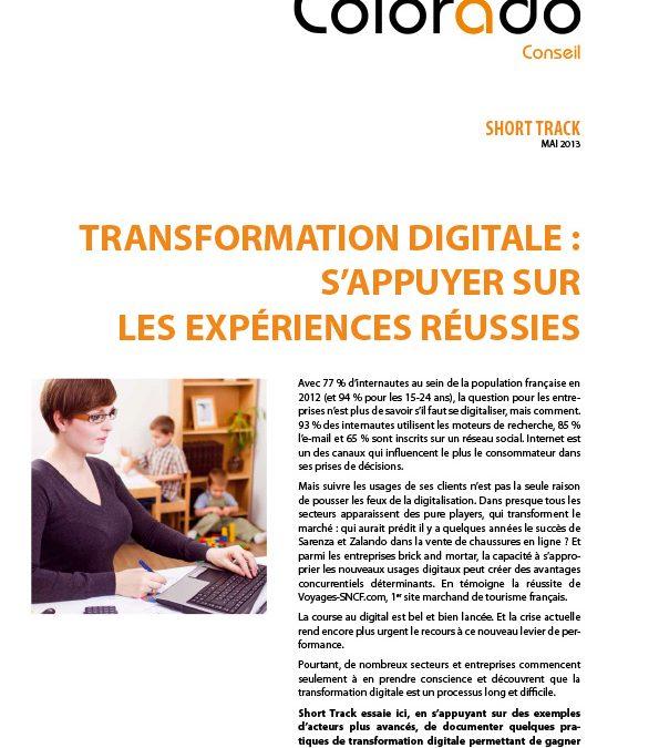 Transformation Digitale : S'appuyer sur les expériences réussies