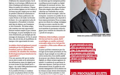 Interview Christophe de Saint Viance