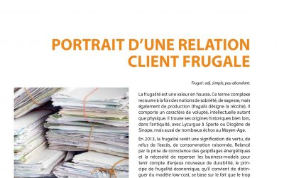 Portrait d'une relation client frugale