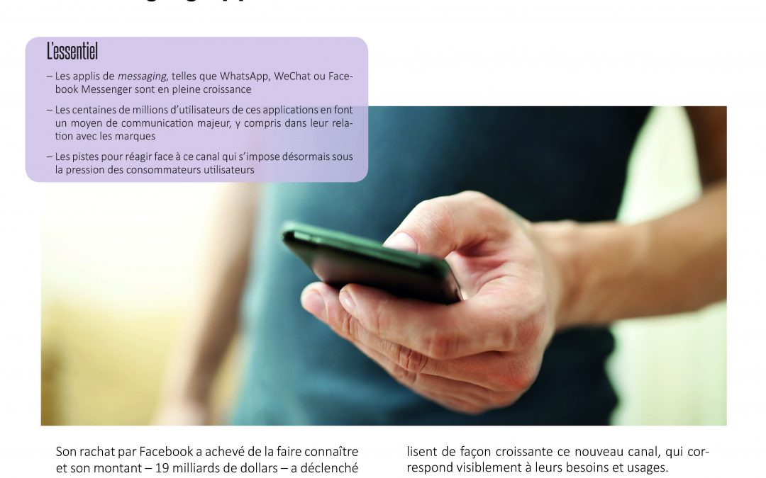 Whatsapp, wechat, line … messaging apps, le nouveau canal de relation client