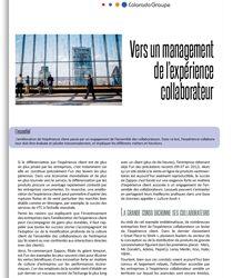 Vers un management de l'expérience collaborateur