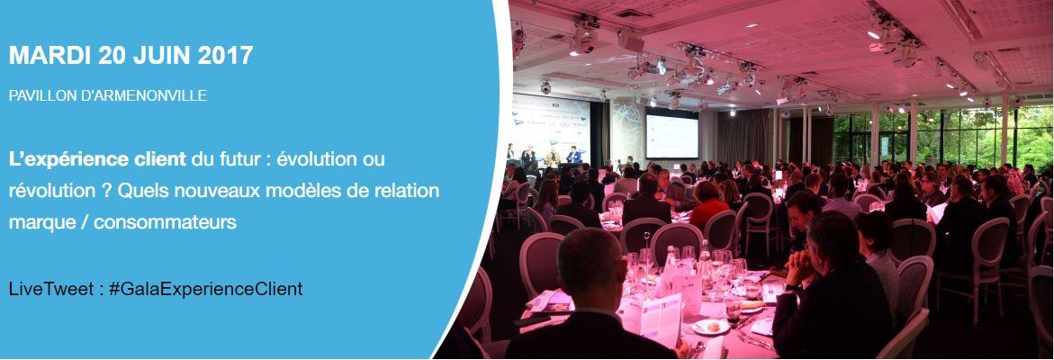 ConsumerLive partenaire officiel du Gala de l'Expérience Client