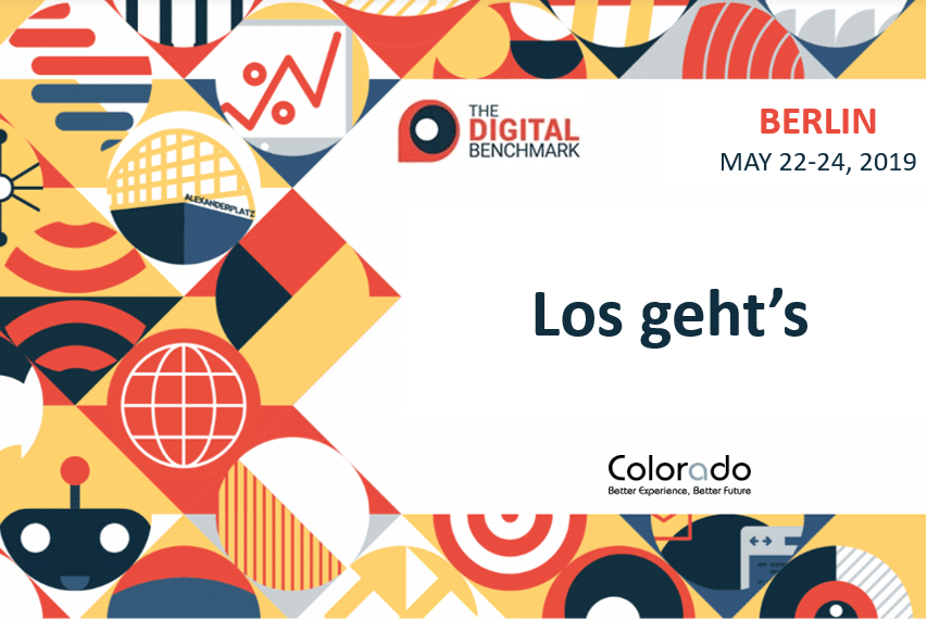 Retrouvez Colorado au Digital Benchmark 2019 à Berlin !
